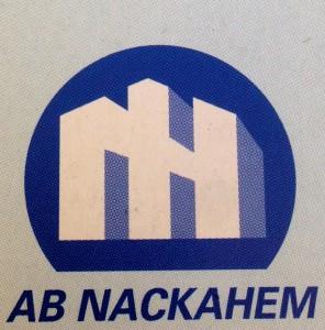 Nackahem logotyp