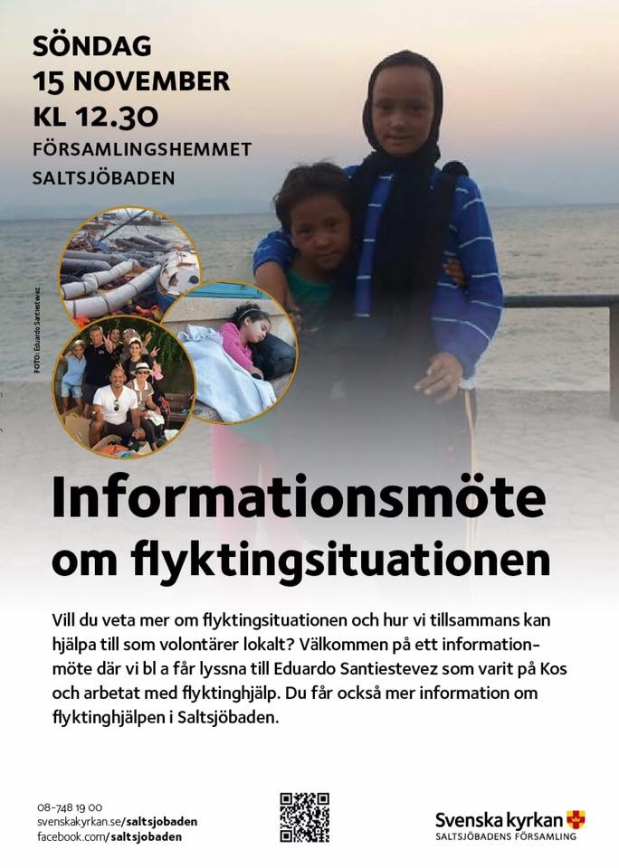 info om flyktingkrisen